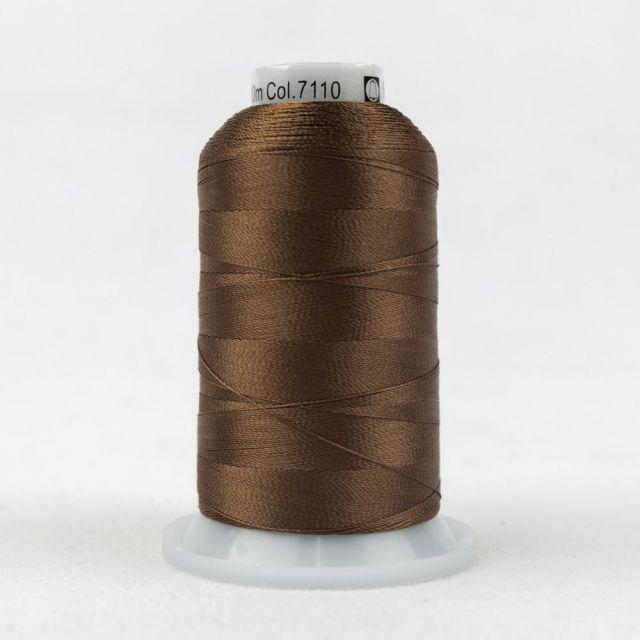 Wonderfil Splendor 40wt Rayon Thread 1000m spool - R7110 Ginger Bread by Wonderfil Splendor 40wt Rayon Splendor 40wt Rayon - OzQuilts