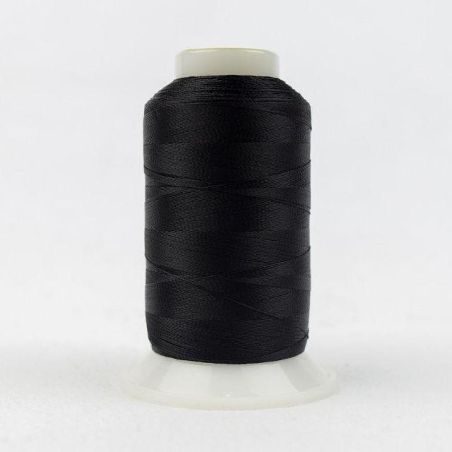 Wonderfil Splendor 40wt Rayon Thread 1000m spool - R9000 Raven by Wonderfil Splendor 40wt Rayon - OzQuilts