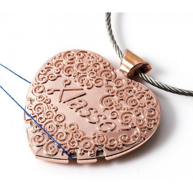 Sew Easy Rose Gold Thread Cutter Pendant by Sew Easy Needle Threaders & Cutters - OzQuilts