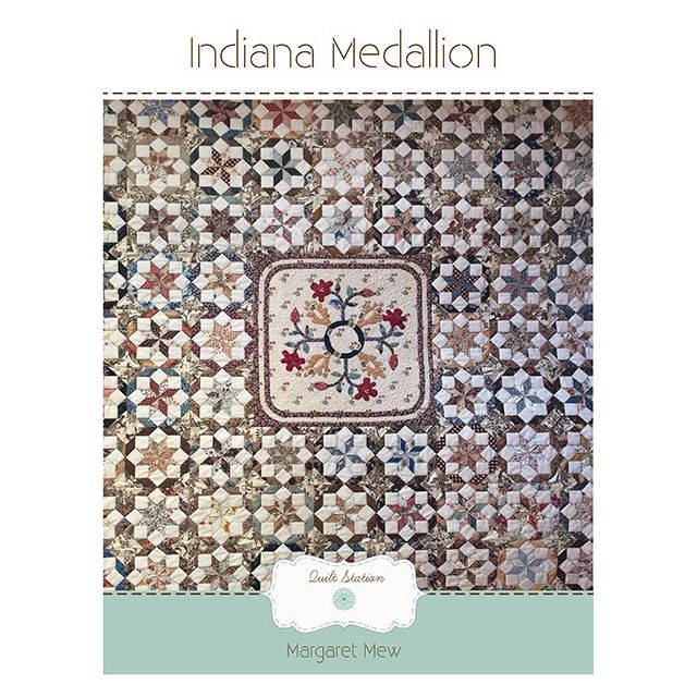 Indiana Medallion Quilt Pattern by Margaret Mew by Paper Pieces EPP Patterns & Books - OzQuilts