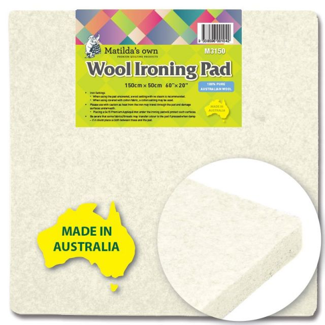 """Matilda's Own Wool Ironing Pad 60"""" x 20"""" by  - Great Gift Ideas"""