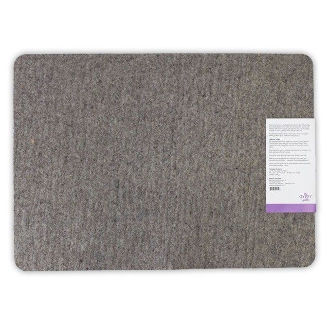 """Wool Pressing Mat 17"""" x 24"""" x ½"""" Thick by The Gypsy Quilter by  - Irons & Pressing"""