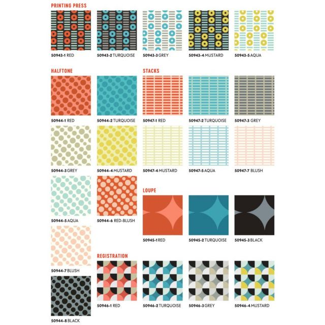 Circular Logic Uppercase 3 - 26 Fat Quarter Bundle Multi by Windham Fabrics by Windham Fabrics Fat Quarter Packs - OzQuilts