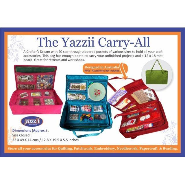 Yazzii Carry All Green CA120 by Yazzii - Yazzii Organisers