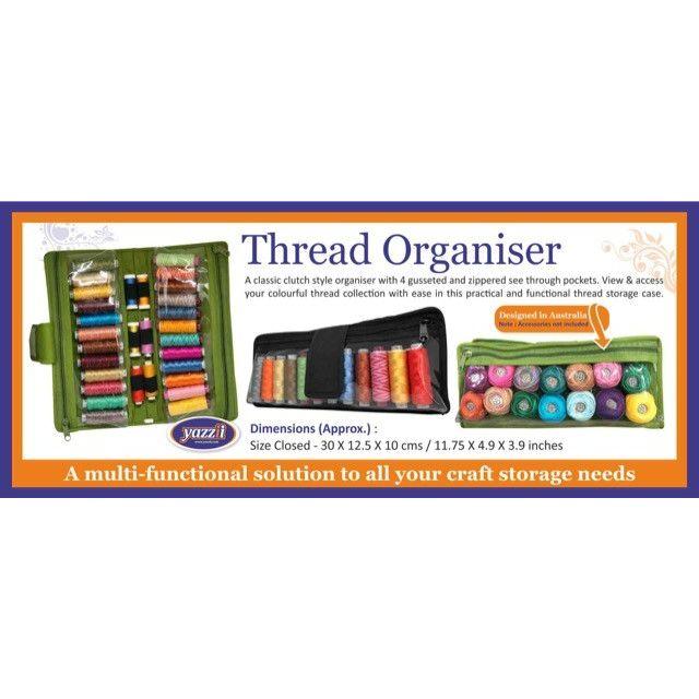 Yazzii Thread Organizer Fuschia CA625 by Yazzii - Thread Accessories