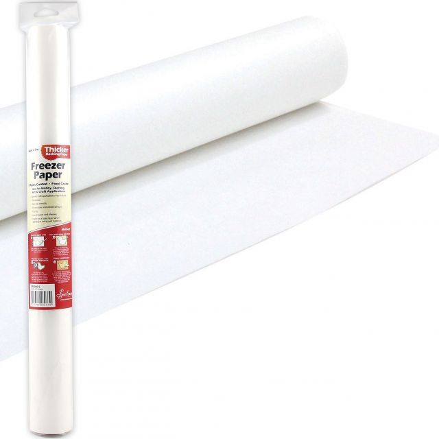 Sew Easy Freezer Paper 45cm wide x 5 Metre Pack by Sew Easy - Freezer Paper