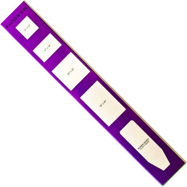 "Silicone Purple Applique Fusing Mat 20"" × 20"" by  - Applique Pressing Sheets"