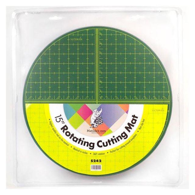 "Matilda's Own 15"" Diameter Rotating Cutting Mat by Matilda's Own Cutting Mats - OzQuilts"