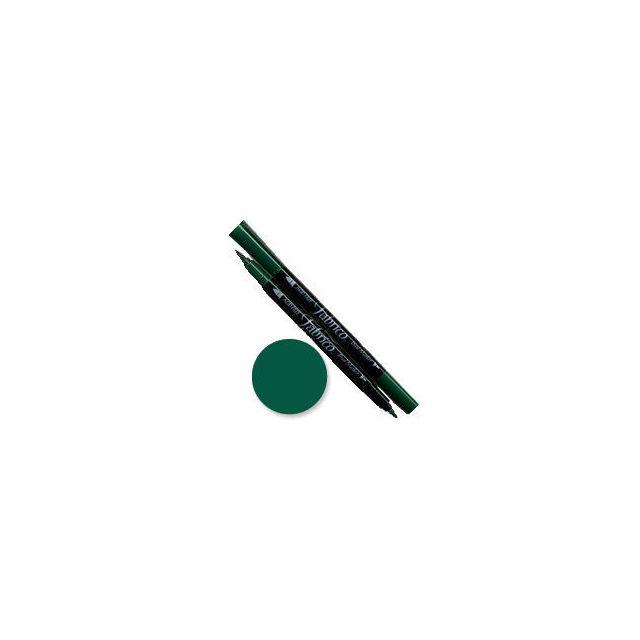 Tsukineko Fabrico Dual Marker - Forest 163 by Tsukineko - Tsukineko Dual Tip Fabric Pens