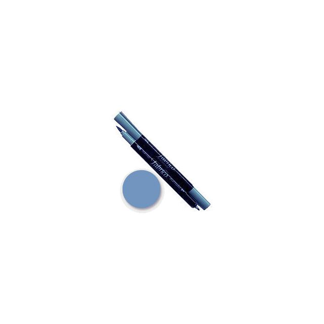 Tsukineko Fabrico Dual Marker - Sky Mist 158 by Tsukineko - Tsukineko Dual Tip Fabric Pens