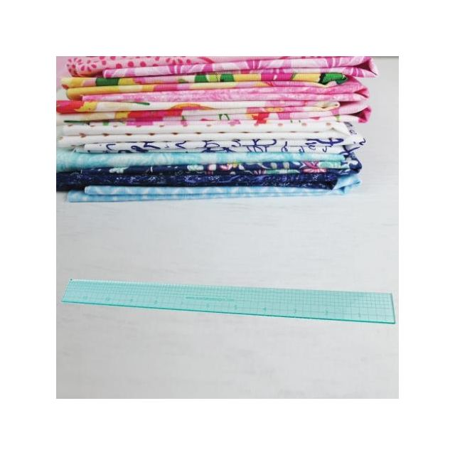 """Sue Daley 12"""" Ruler by Patchwork with BusyFingers - Sue Daley EPP Notions"""