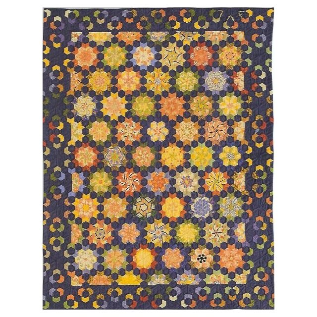 Nocturne Template Set from Millefiori Quilts 3- Halo Set in Original Size by OzQuilts - Millefiori Book 3