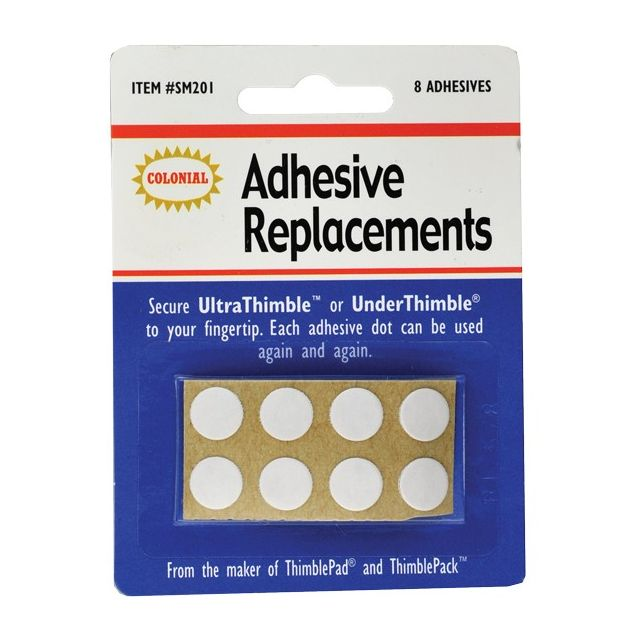 Adhesive Replacements for UltraThimble and UnderThimble by Colonial - Thimbles