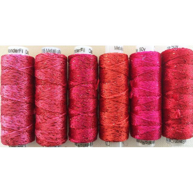 Dazzle Thread Pack- Big Apple by Sue Spargo Dazzle - Sue Spargo Dazzle Rayon & Metallic