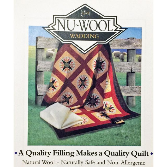 Nu-wool Batting Sample Card by  Bulk Rolls of Batting - OzQuilts
