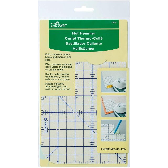 Clover Hot Hemmer Pressing Tool 6″ x 5″ by  - Irons & Pressing