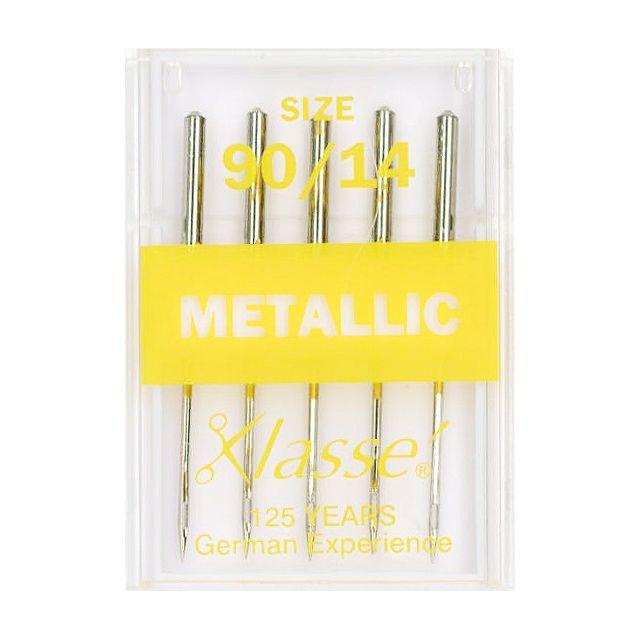 Klasse Metallic Embroidery Machine Needles Size 90/14 by Klasse - Machines Needles