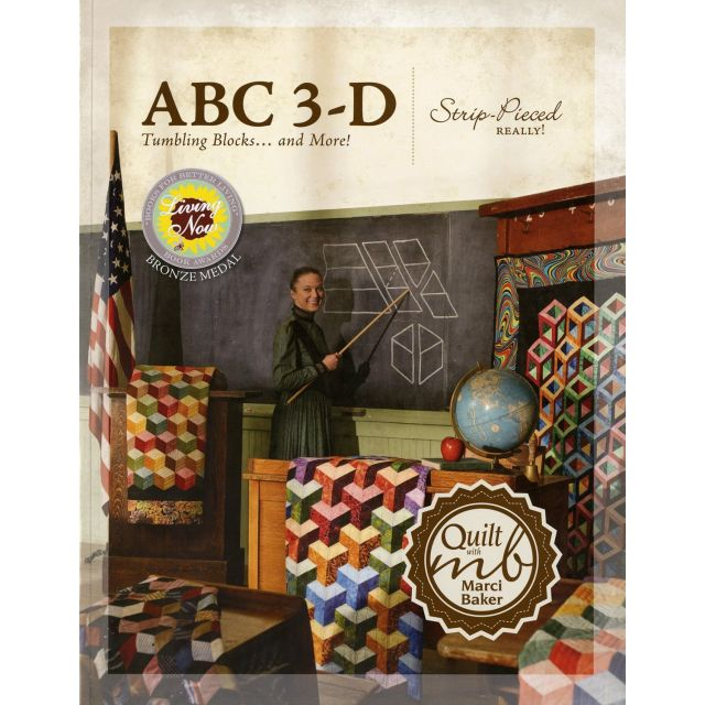ABC 3-D Tumbling Blocks... and More! by  - Reproduction & Traditional