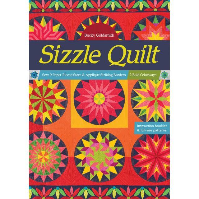 Sizzle Quilt by Becky Goldsmith by  - Modern Quilts