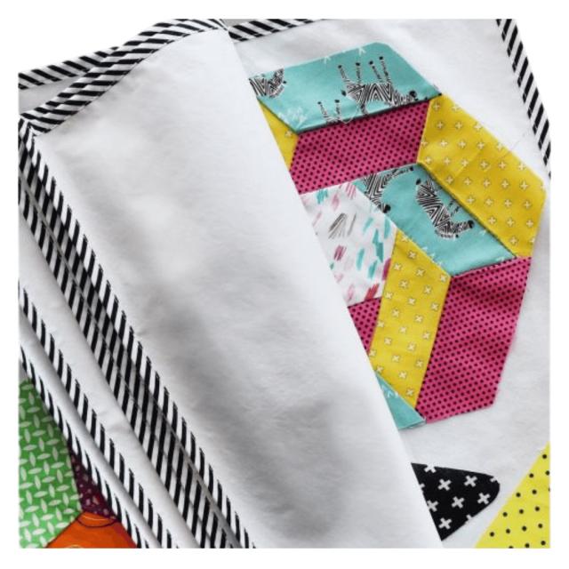 Jen's Block Wrap by Jen Kingwell by  Colour & Design Tools - OzQuilts