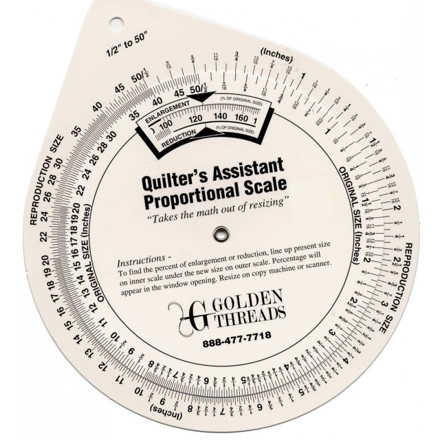 Quilter's Assistant Proportional Scale by  - Colour & Design Tools