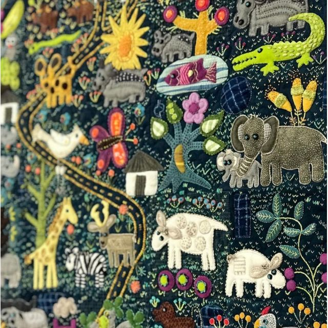Folk-Tails Book by Sue Spargo by Sue Spargo - Sue Spargo