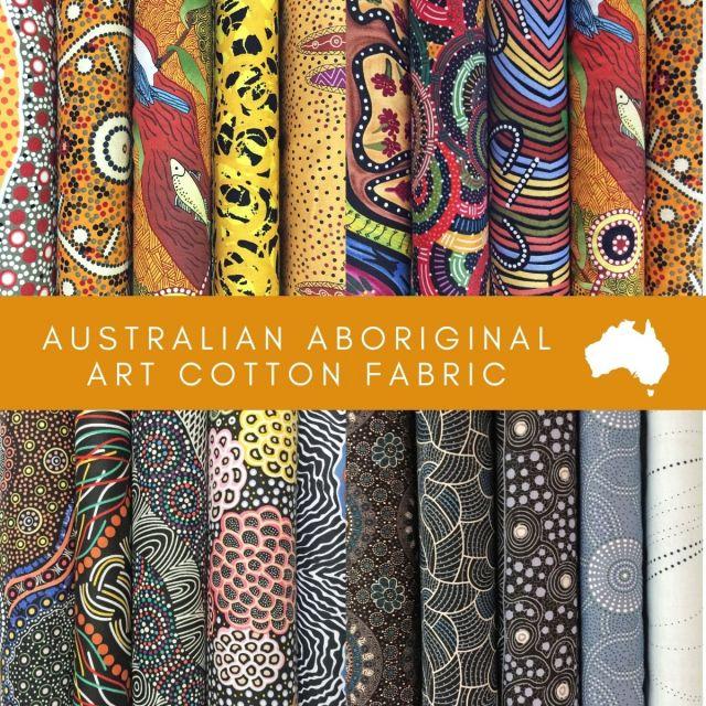 Aboriginal Art Fabric 20 Fat Quarter Bundle T by M & S Textiles Fat Quarter Packs - OzQuilts
