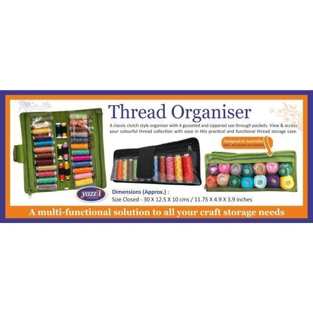 Yazzii Thread Organizer Black CA625 by Yazzii - Thread Accessories