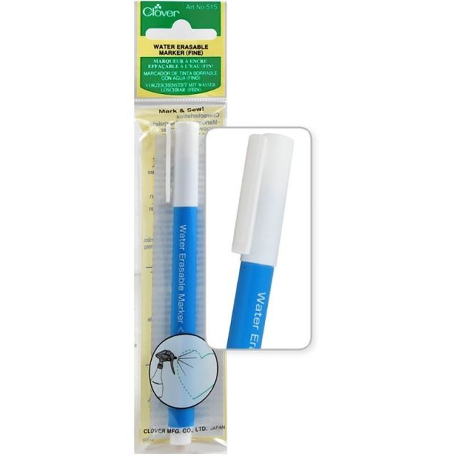 Clover Water Soluble Marker FIne Point by Clover Water Soluble - OzQuilts