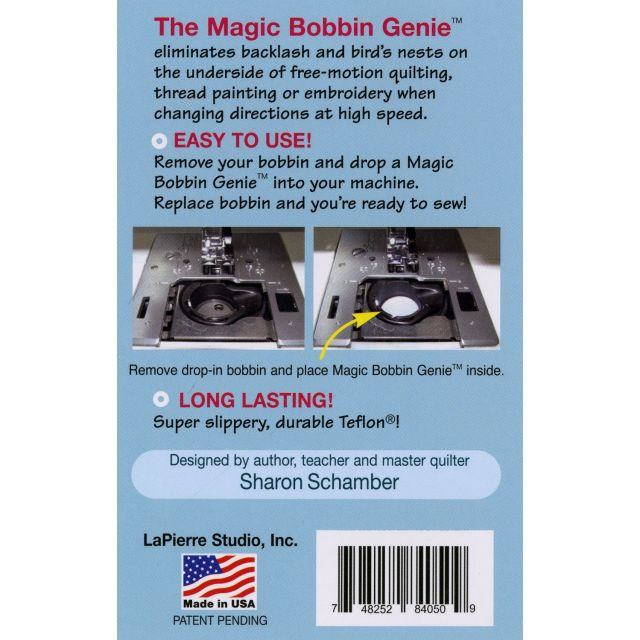 Little Magic Bobbin Genies For Drop Ins Size L by La Pierre Studio - Sewing Machine Accessories