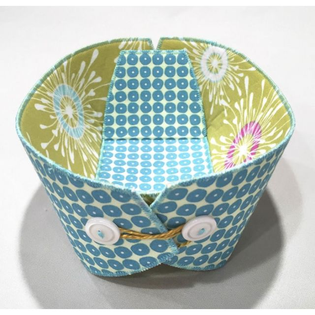 Button Boats Pattern by Lazy Girl Designs by Lazy Girl Designs - Bag Patterns