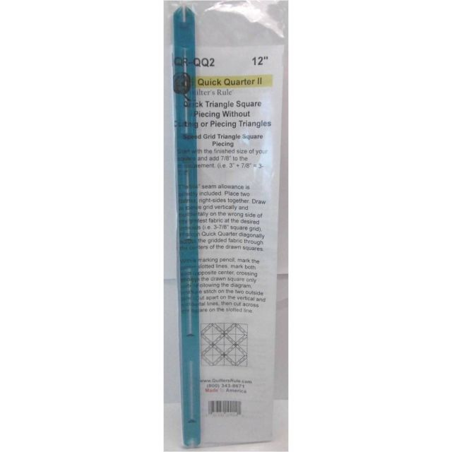 """Quick Quarter 12"""" Ruler by Quilter's Rule International - Quilt Blocks"""