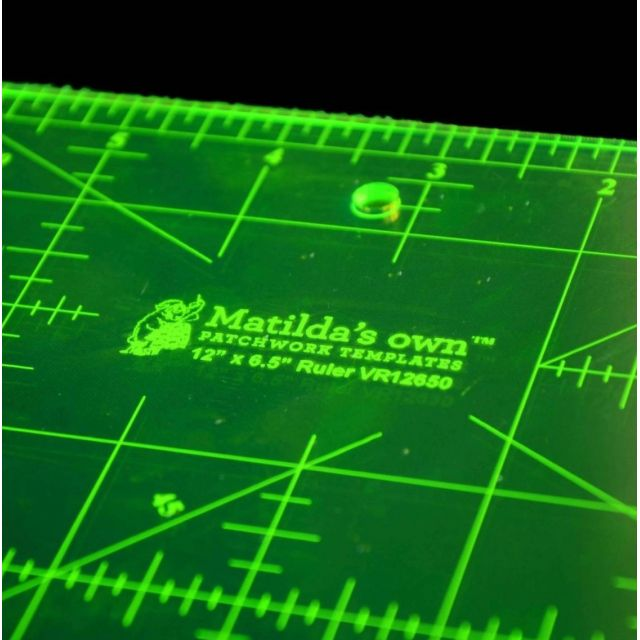 """Matilda's Own Ruler 12"""" x 6½"""" by Matilda's Own - Rectangle Rulers"""