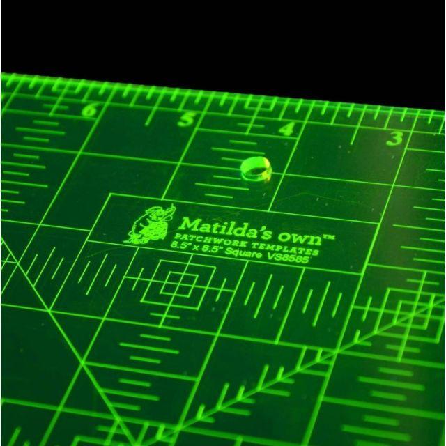 "Matilda's Own 8½"" Square by Matilda's Own - Square Rulers"