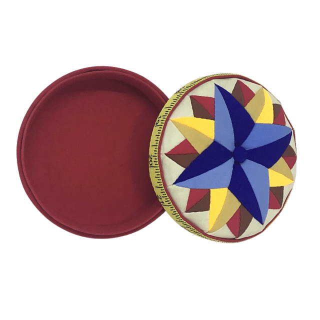 Fons & Porter Mariners Star Pincushion & Storage Box by Fons & Porter  - Organisers for Pins