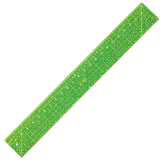"""Matilda's Own Dual Metric & Imperial Ruler 24""""x 3"""" by Matilda's Own - Rectangle Rulers"""