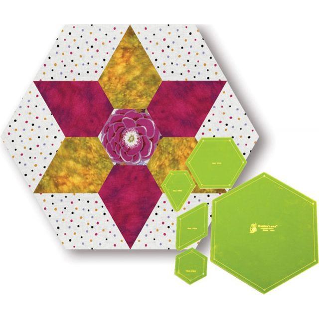 Hana (1930's Flower) Template Set by Matilda's Own - Quilt Blocks
