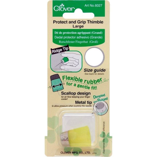 Clover Protect and Grip Thimble Large by Clover - Thimbles