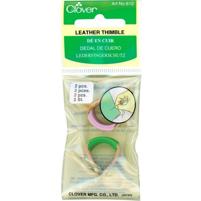Clover Leather Thimble (Adjustable) by Clover - Thimbles