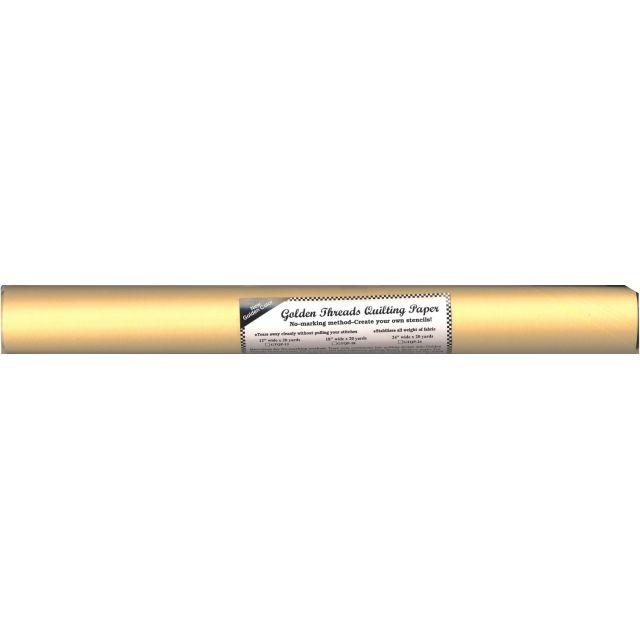 "Golden Threads Quilting Paper, 18"" Wide x 20 Yard Roll by Golden Threads - Quilting Paper"