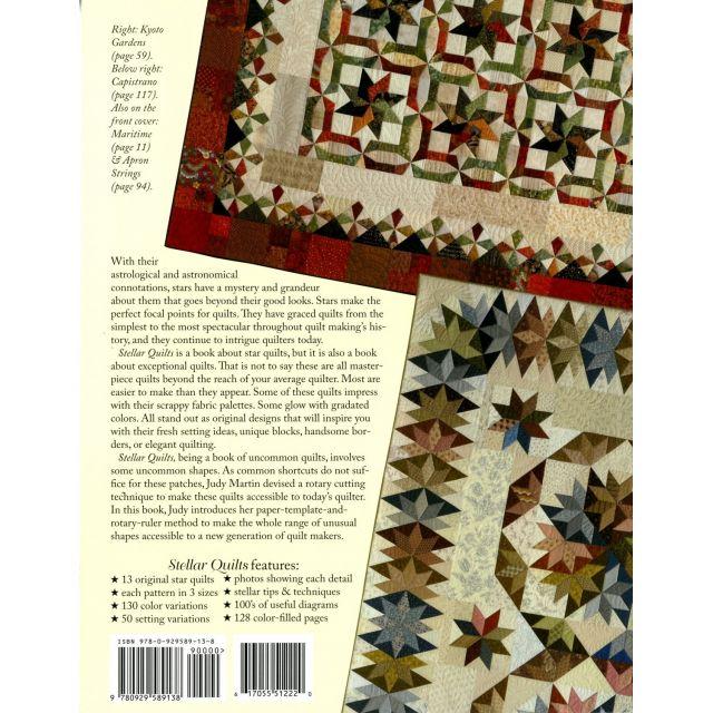 Stellar Quilts by Judy Martin by Judy Martin - Quilt Books