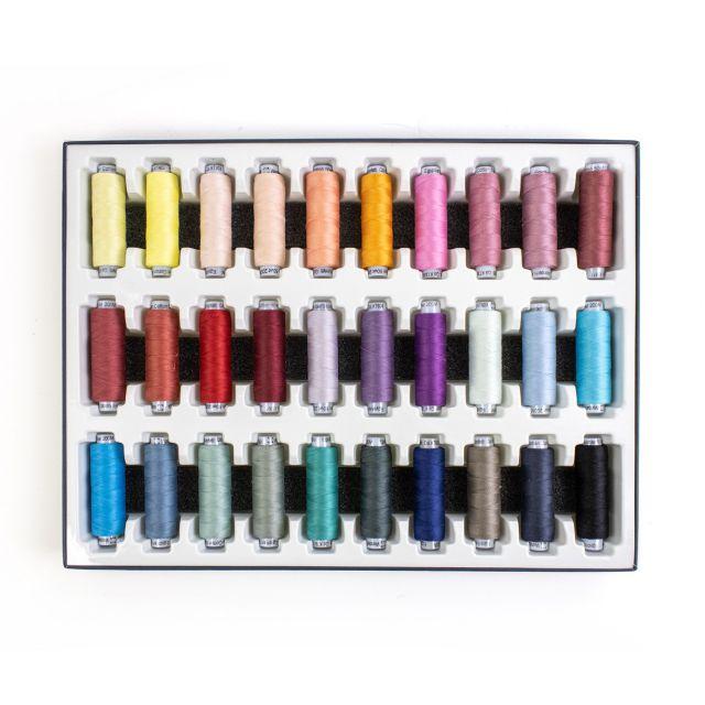 Wonderfil Konfetti Mini-Spool Collection by Wonderfil Konfetti 50wt Cotton Solid Colours - Konfetti 50wt Cotton Solids