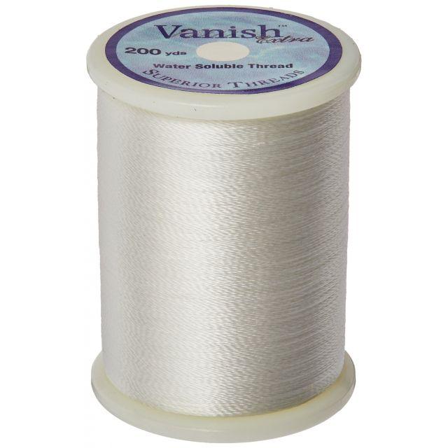 Superior Vanish Extra Water Soluble Thread 200 Yard Spool by Superior Threads - Water Soluble Thread