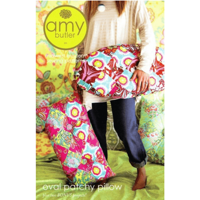 Amy Butler Oval Patchy Pillow and Bonus Projects
