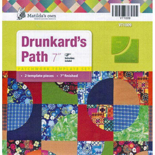 """Matilda's Own Drunkards Path - 7"""""""