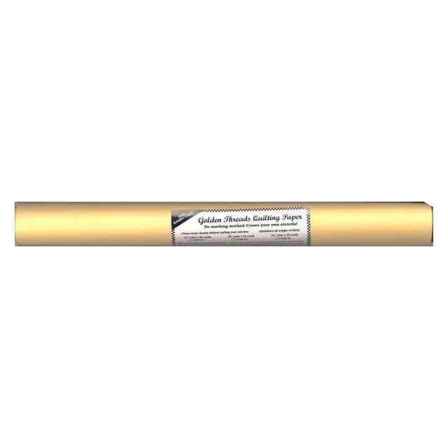 "Golden Threads Quilting Paper 24"" Wide x 20 Yard Roll"