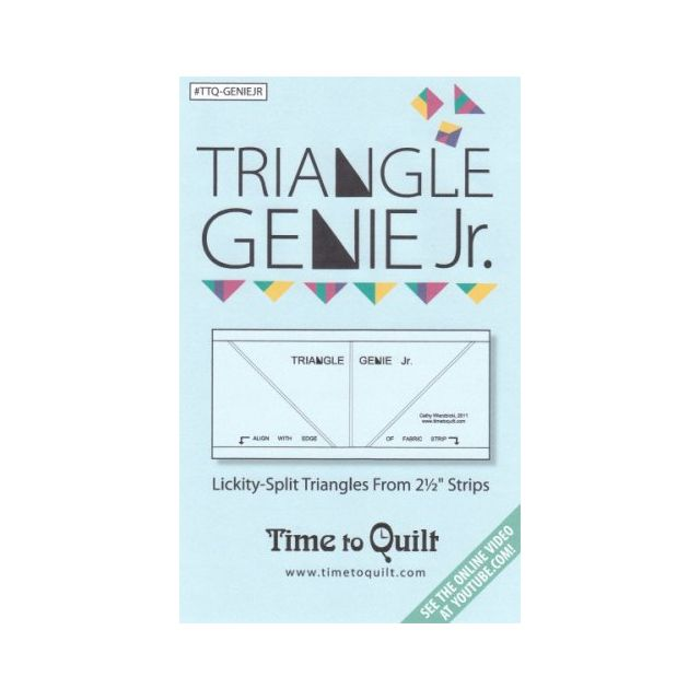 Triangle Genie JUNIOR : Lickity-split triangles from strips