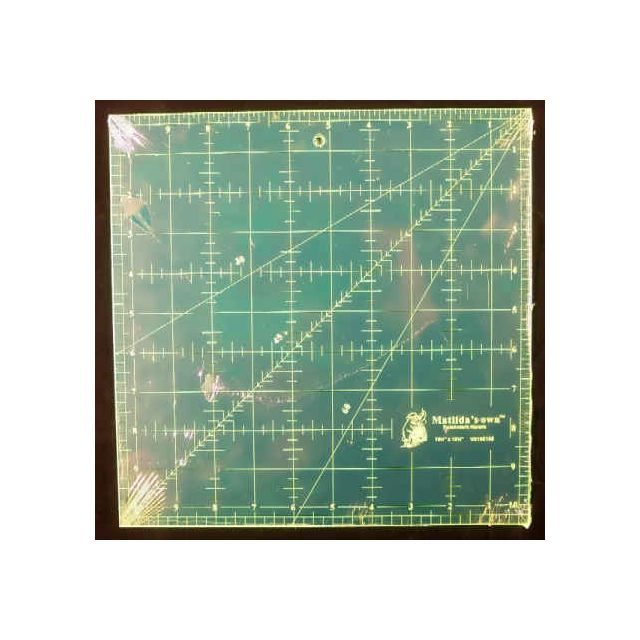 "Matilda's Own 10.5"" Square Ruler"