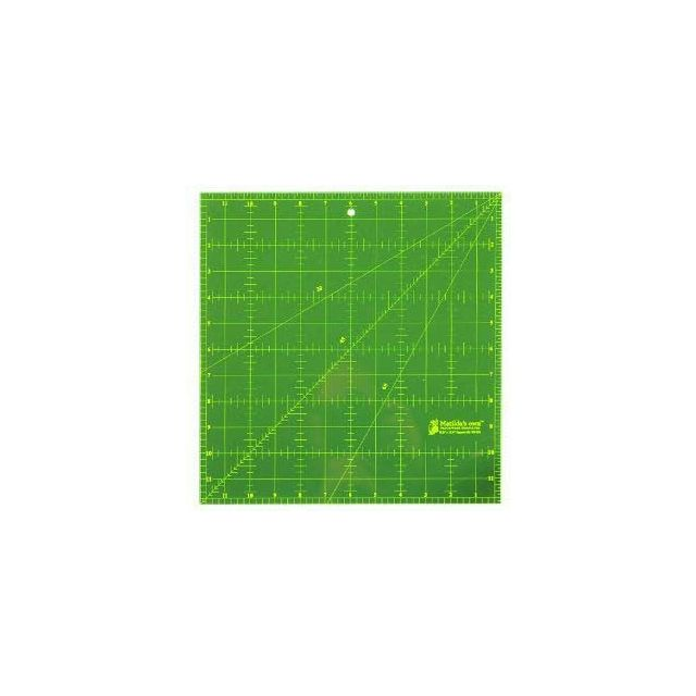"Matilda's Own 12"" Square Ruler"