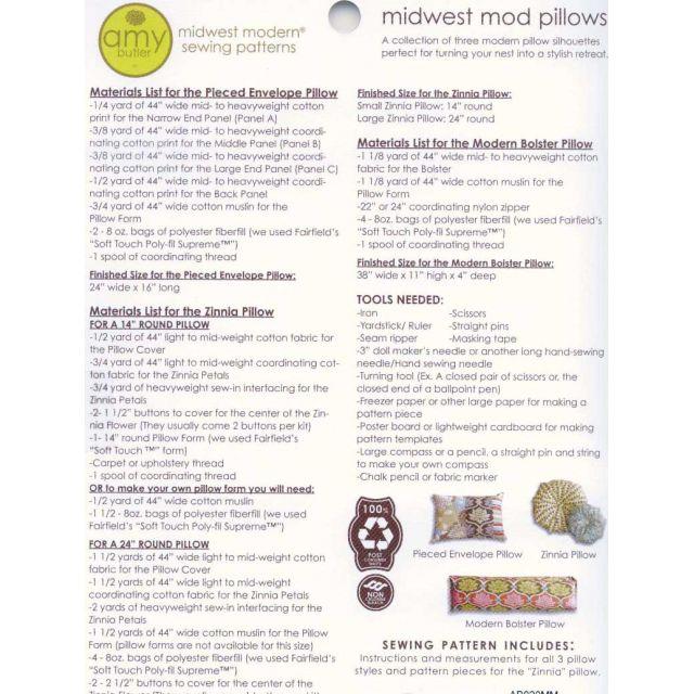 Amy Butler Midwest Mod Pillows